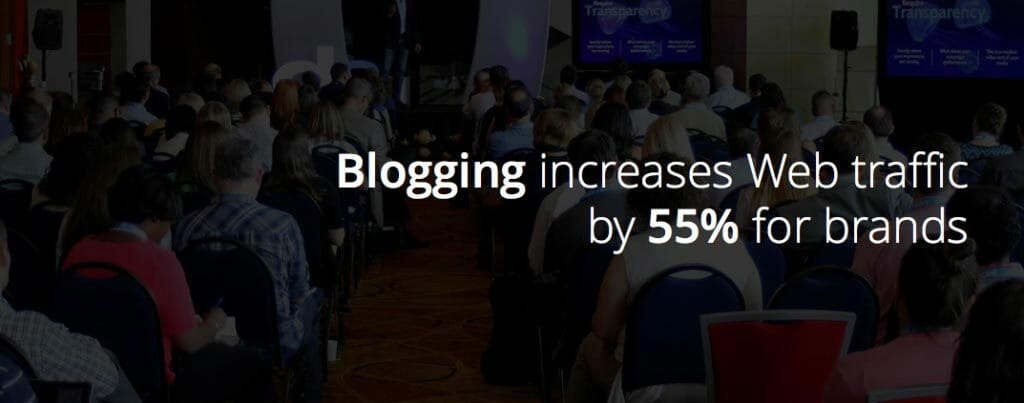 blogging increases web traffic