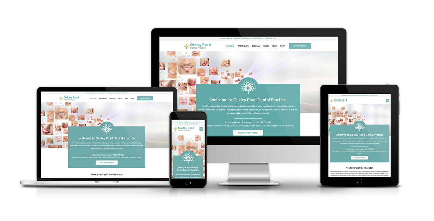 web design and seo for dental practices
