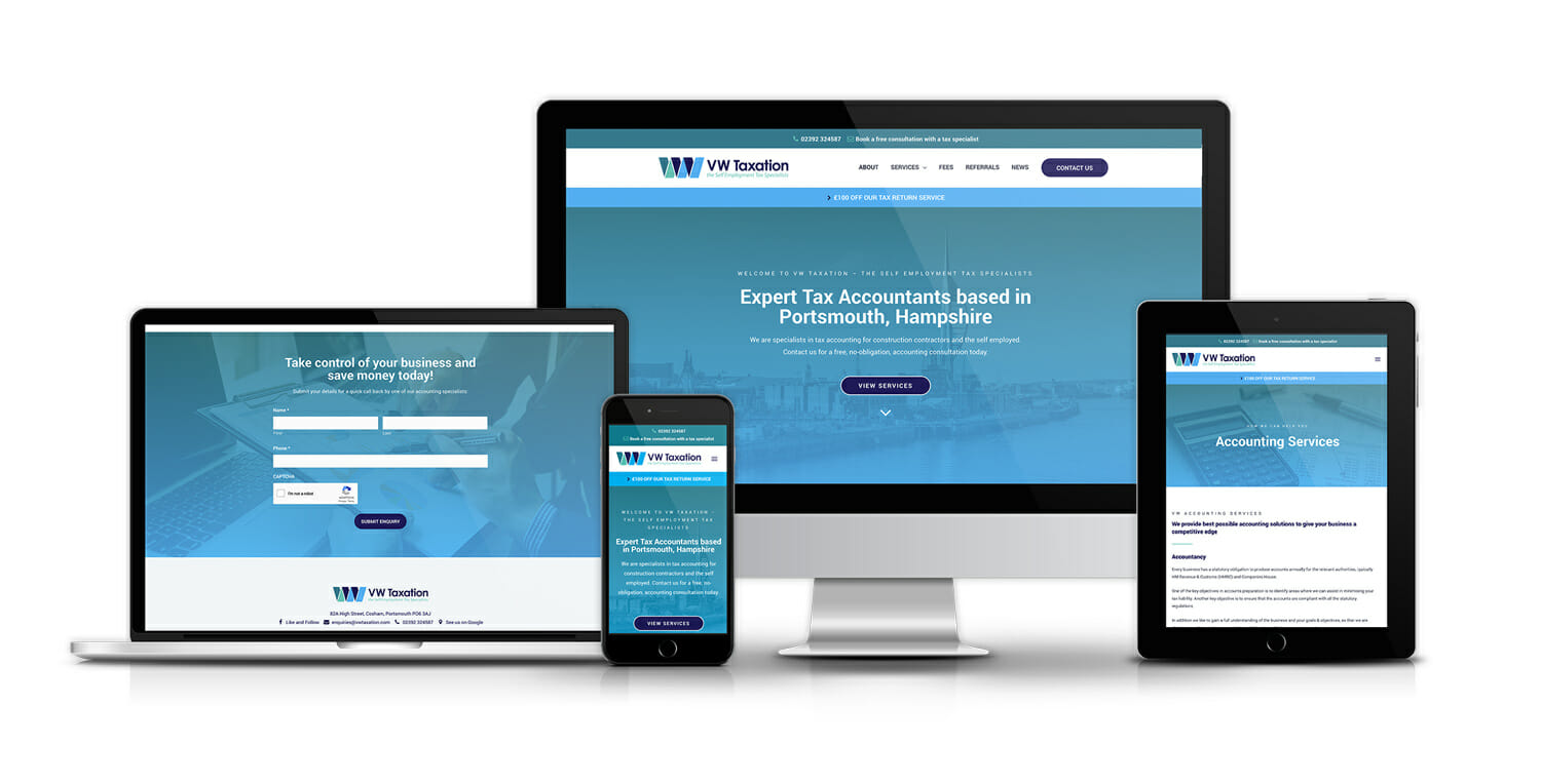 Pay monthly website for accountants